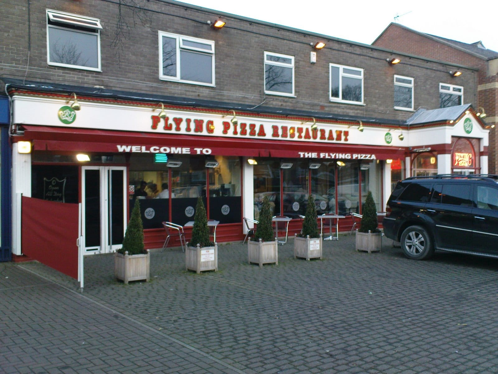 The Flying Pizza Italian Restaurant, Leeds