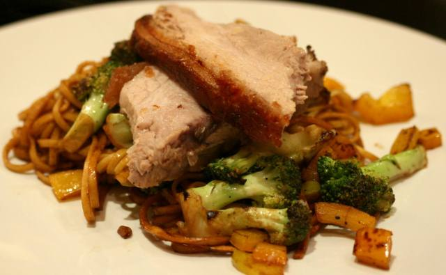 Chinese five spice pork belly