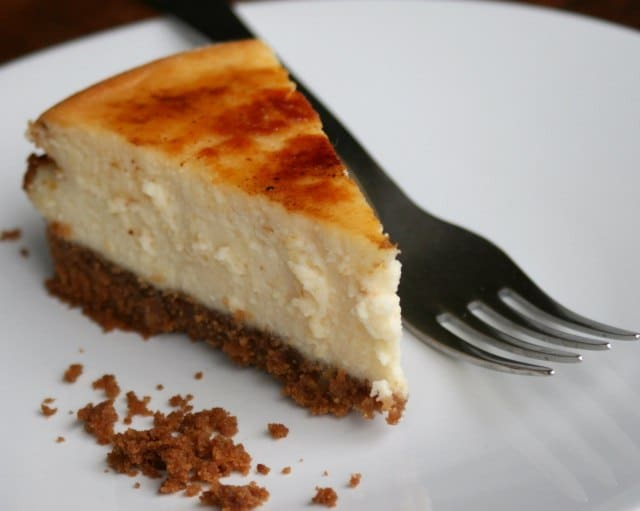 Easy Cheesecake Recipe A simple and easy cheesecake