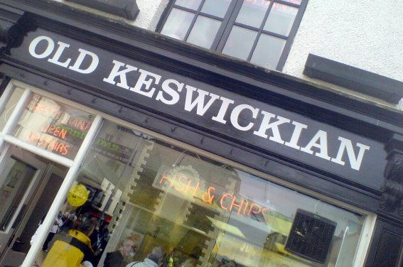 The Old Keswickian Fish and Chip Shop and Restaurant, Keswick