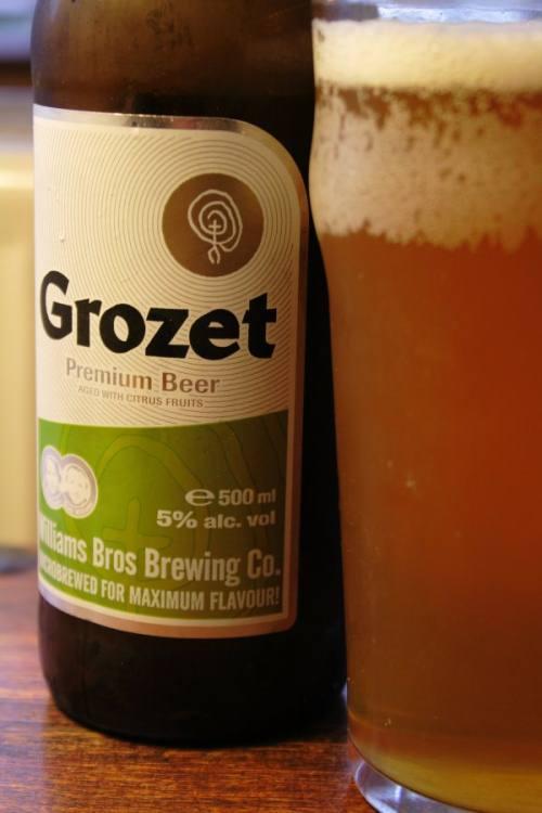 Grozet gooseberry beer