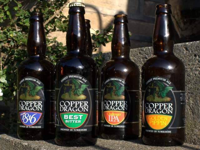 Copper Dragon Brewery, Skipton