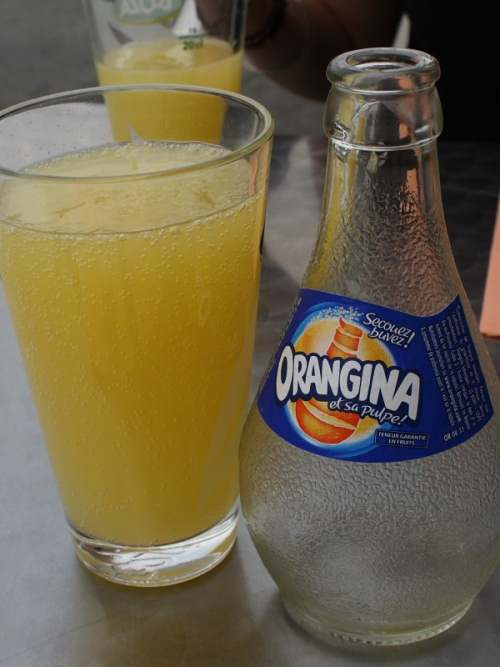 Orangina, France's answer to Coke