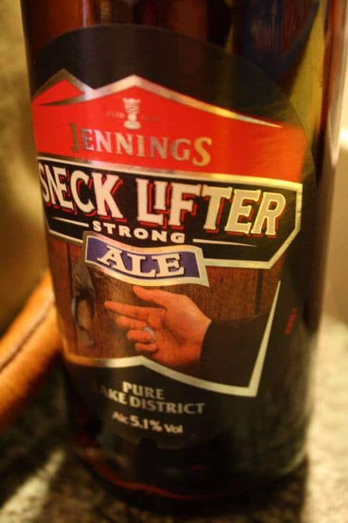 Jenning's Snecklifter Lakeland beer