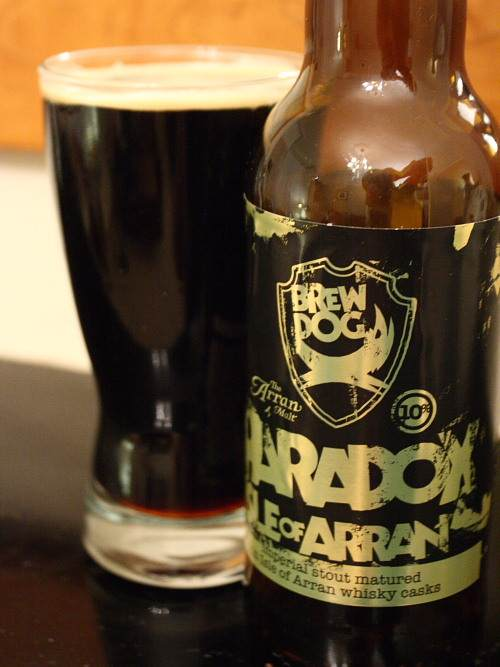 Brewdog's Paradox Imperial Stout