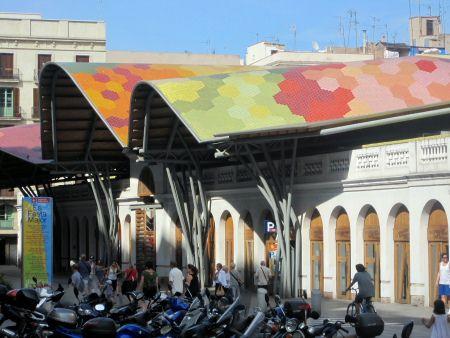 Santa Caterina Market, Barcelona, Spain