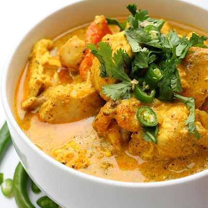 Murgh hyderabadi, a classic Indian chicken curry