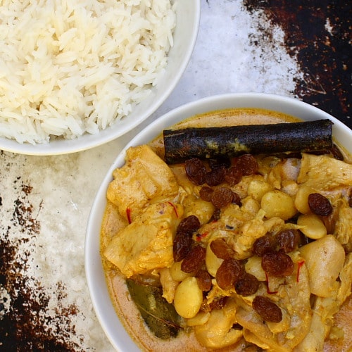 Madhur Jaffrey's Royal Chicken Korma Curry