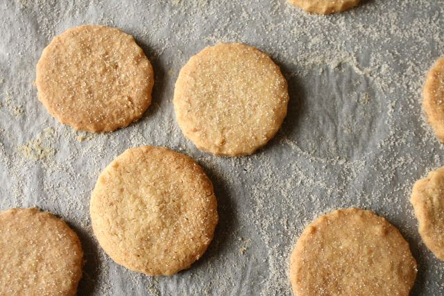 Wholemeal shortcrust cookies