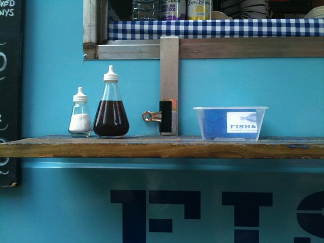 Fish & – mobile fish and chip takeaway and canteen.  Sustainable fish and chips with a twist.