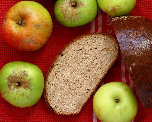 Apple bread, from Roast Figs, Sugar Snow: Food to Warm the Soul by Diana Henry