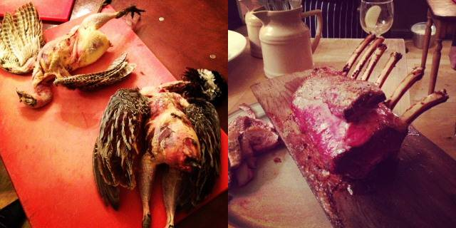 David Lishman's Fur and Feather's game butchery course, Ilkley
