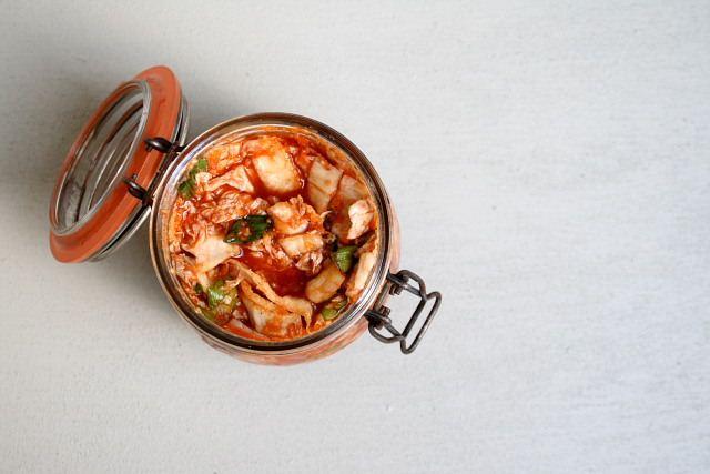 David Chang's kimchi – Korean preserved vegetables