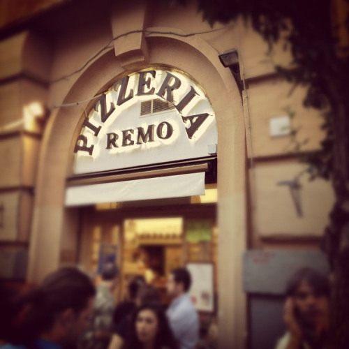 Pizzeria da Remo, Testaccio, Rome, Italy
