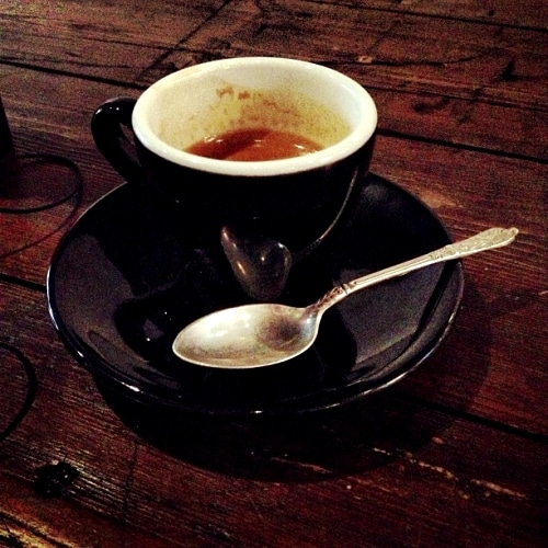 Mrs Atha's independent coffee shop, Leeds