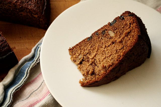 Lekach or honey cake for Rosh Hashanah, by Claudia Roden