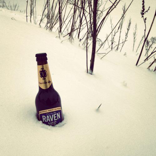 Thornbridge Brewery's Raven Black IPA