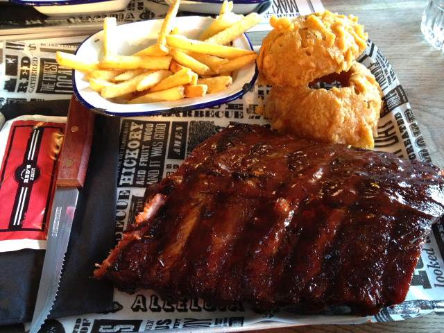 Red's True Barbecue – slow cooked meat in the heart of Leeds.