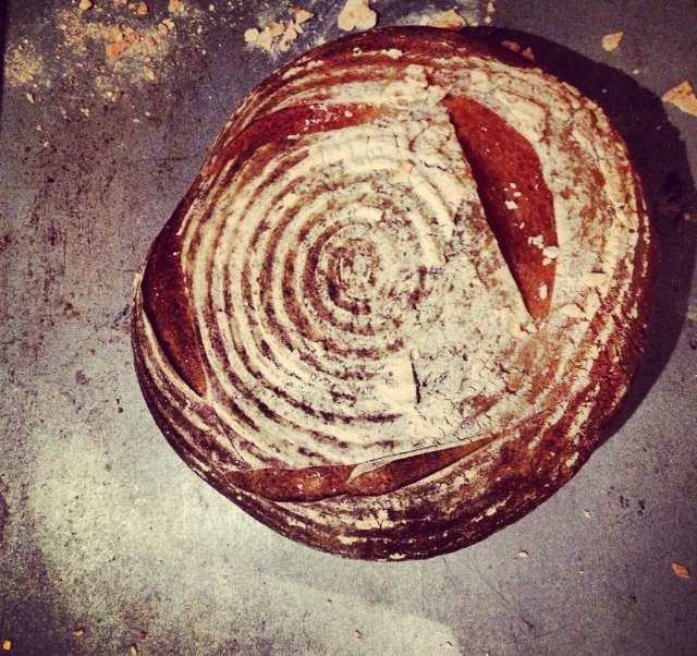 Simple, straightforward and easy sourdough loaf