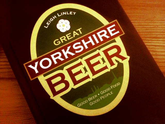 Great Yorkshire Beer, by Leigh Linley