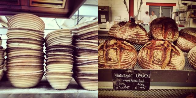French patisserie at The Handmade Bakery, Slaithwaite