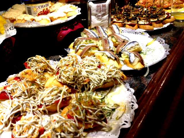 Food in San Sebastián, Spain