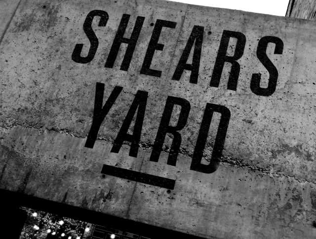 Shears Yard restaurant, Wharf Street, Leeds