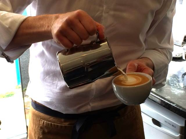 Casa Espresso's barista and latte art training courses