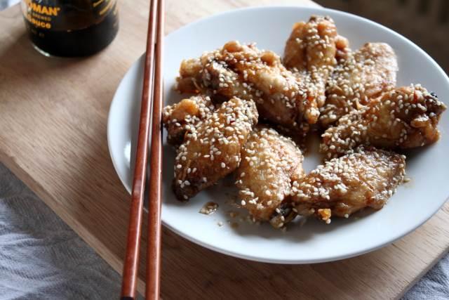 Japanese deep-fried chicken wings, tebasaki Nagoya