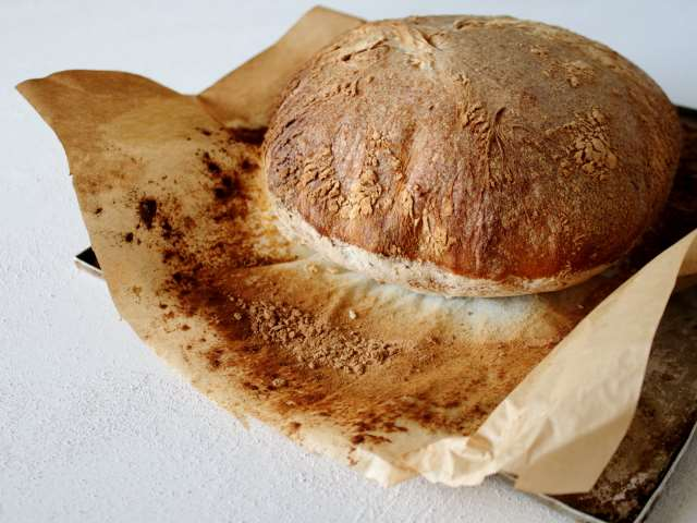 Como bread, traditional Italian country bread from Lake Como.
