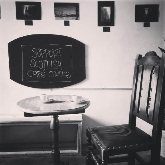 Cafe etiquette