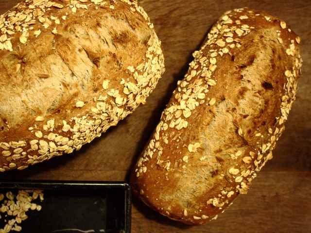 German vollkorn bread
