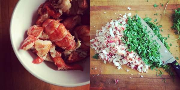 How to make lobster ravioli