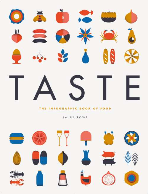 Taste: The Infographic Book of Food, by Laura Rowe